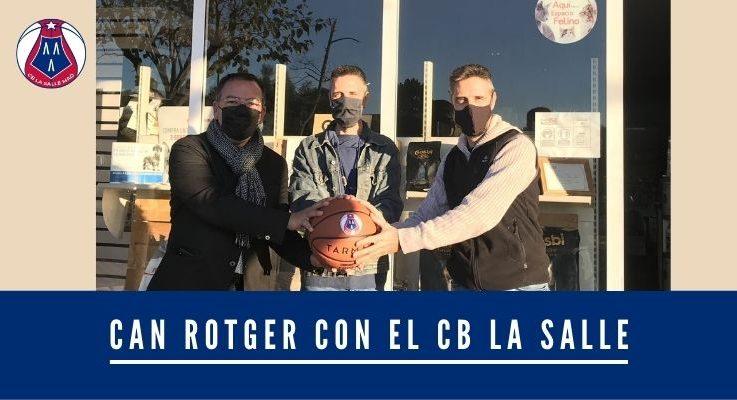 Can Rotger con el C.B. La Salle Mahón
