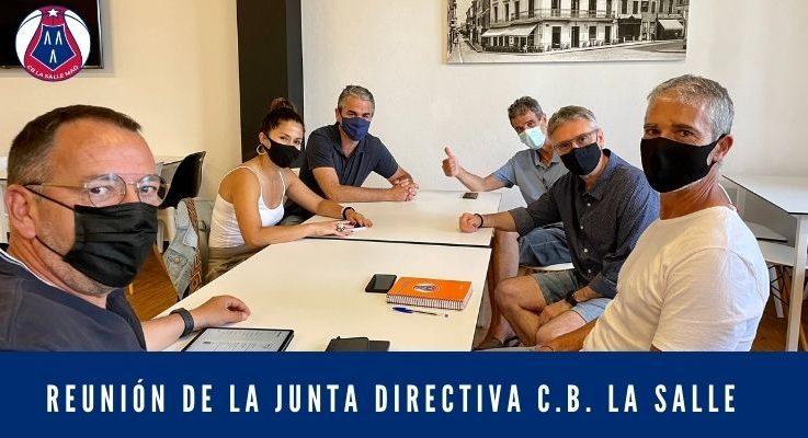 Reunión de la Junta Directiva C.B. La Salle