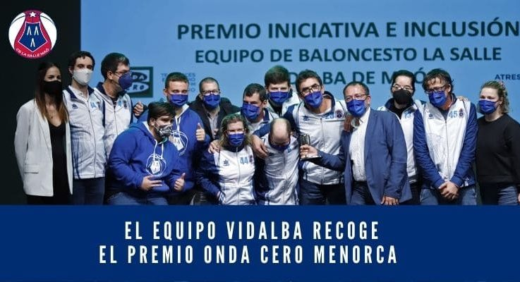 El equipo Vidalba recoge el premio Onda Cero